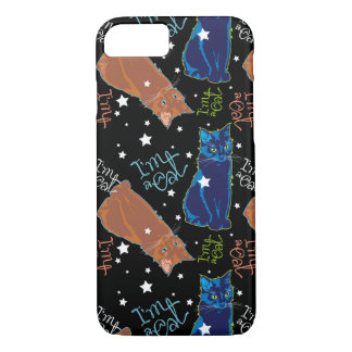 Cats don't sleep at night iPhone 8/7 case