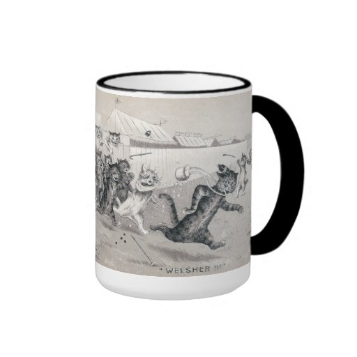 Cats Drive Swindler from Track Ringer Coffee Mug