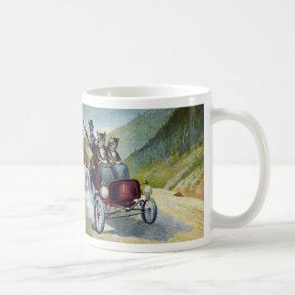Cats Driving Through the Catskills Coffee Mug