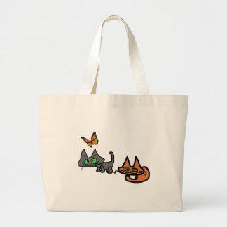 Cats Enjoying The Summer Bags