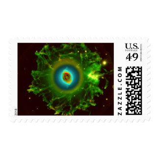 cats-eye-nebula-11167  planetary fog, constellatio stamp