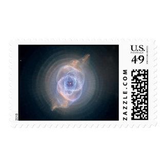 Cats Eye Nebula 2 Postage Stamps