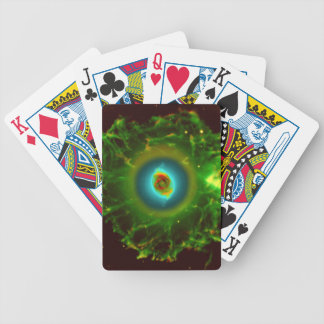 Cats Eye Nebula Bicycle Playing Cards