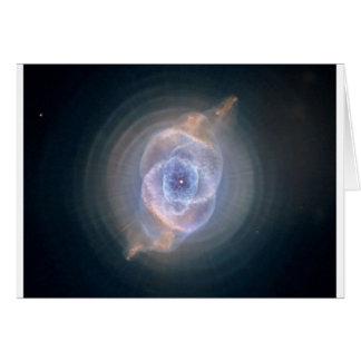 cats eye nebula card