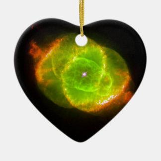 Cat's Eye Nebula Ceramic Ornament