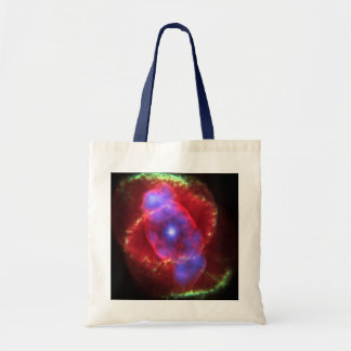 Cat's Eye Nebula glowing Tote Bag