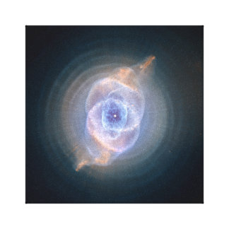 Cat's Eye Nebula Hubble NASA Canvas Print