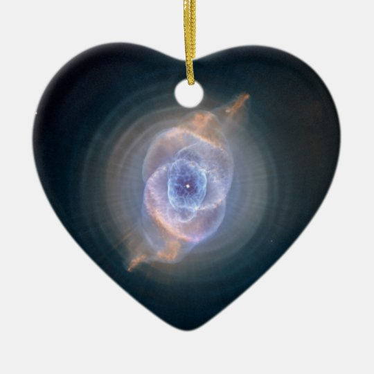 Cat's Eye Nebula Hubble NASA Ceramic Ornament