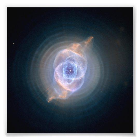 Cat's Eye Nebula Hubble NASA Photo Print