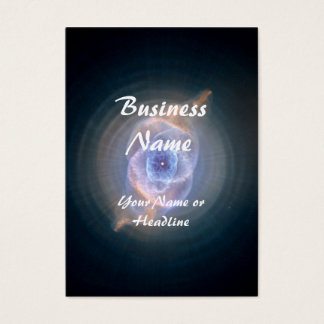 Cat's Eye Nebula Hubble Space Business Card