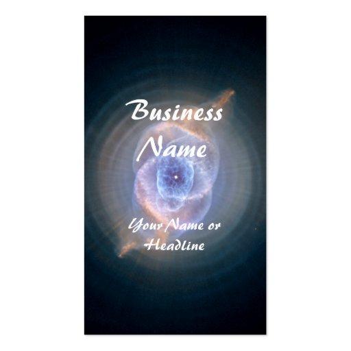 Cat's Eye Nebula Hubble Space Business Card Template