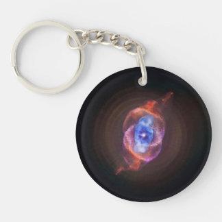 Cat's Eye Nebula Keychain