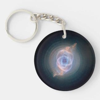 Cats Eye Nebula Keychain