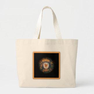 Cats Eye Nebula Large Tote Bag