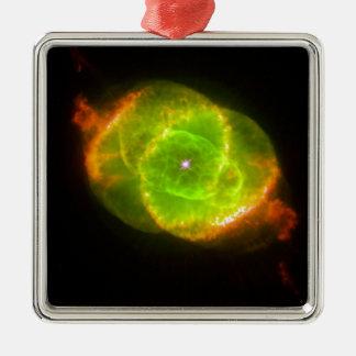 Cat's Eye Nebula Metal Ornament