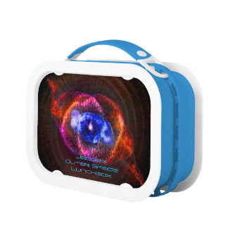 Cats Eye Nebula or Eye of God outer space image Lunch Box