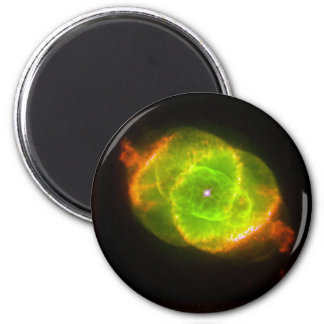 CAT'S EYE NEBULA (outer space design) ~ 2 Inch Round Magnet