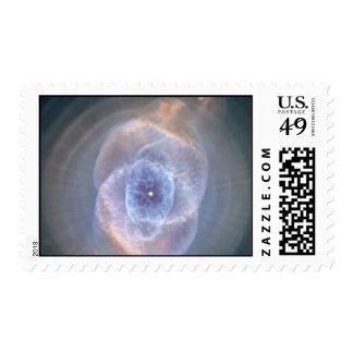 cats eye nebula postage
