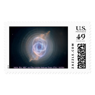 Cat's Eye Nebula Stamp
