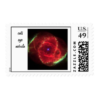Cats Eye Nebula  postage stamp