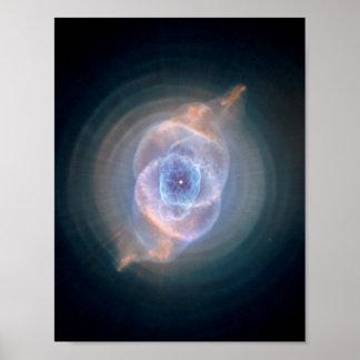 Cats Eye Nebula Posters