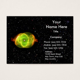 CAT'S EYE NEBULA (space design) ~ Business Card