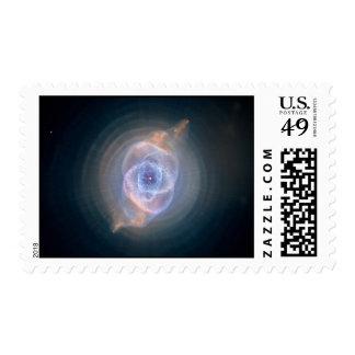 Cats Eye Nebula Stamp