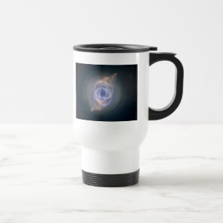 cats eye nebula travel mug