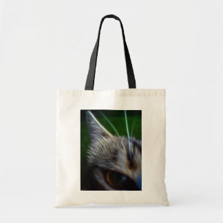 Cat's Eye Photomanipulation Tote Bag