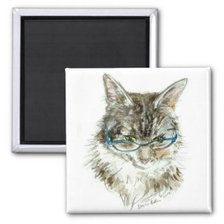 Cat's Eye Reading Glasses CAT Magnet