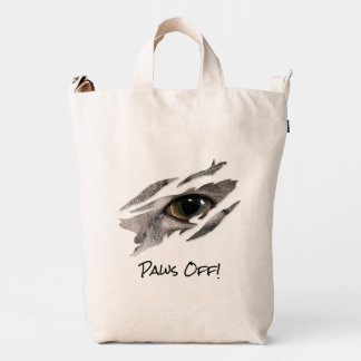 Cats Eye Rip Paws Off Duck Bag