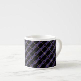 Cat's Eye Stripes Espresso Mug 6 Oz Ceramic Espresso Cup