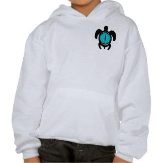 Cat's Eye Turtle 2-Sided Kids' Sweatshirts