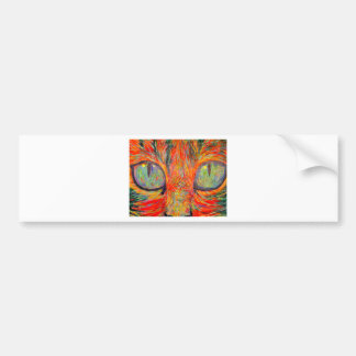 Cats Eyes Bumper Stickers