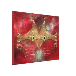 Cat's-Eyes Canvas Print