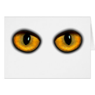 Cat's Eyes Card