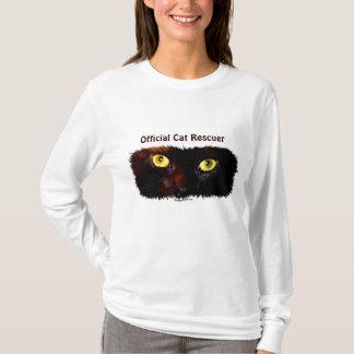 Cat's Eyes Cat-lover Pet Rescue Design T-Shirt