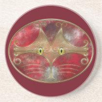 Cat's-Eyes Coaster