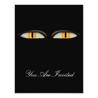 Cats Eyes Design Card