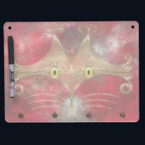 Cat's Eyes Dry Erase Board