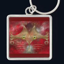 Cat's-Eyes Keychain