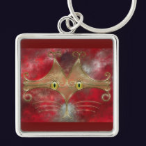 Cat's-Eyes Keychain