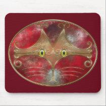 Cat's-Eyes Mousepad