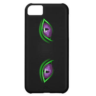 Cats Eyes on Black Case for iPhone 5