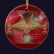 Cat's-Eyes Ornament