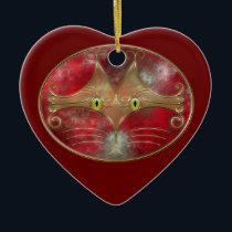 Cat's-Eyes Ornament