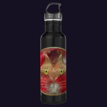 Cat's-Eyes Stainless Steel Water Bottle
