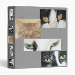 Cats Eyes Vinyl Binders