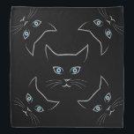 "Cat&#39;s face bandana<br><div class=""desc"">Cat&#39;s face</div>"