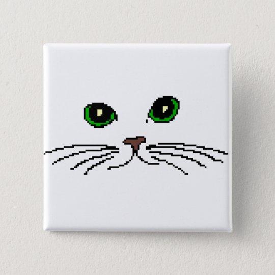 Cat's Face Button